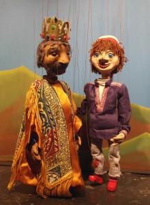 Kasperli mit König