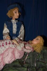 Prinz und schlafendes Dornrösli